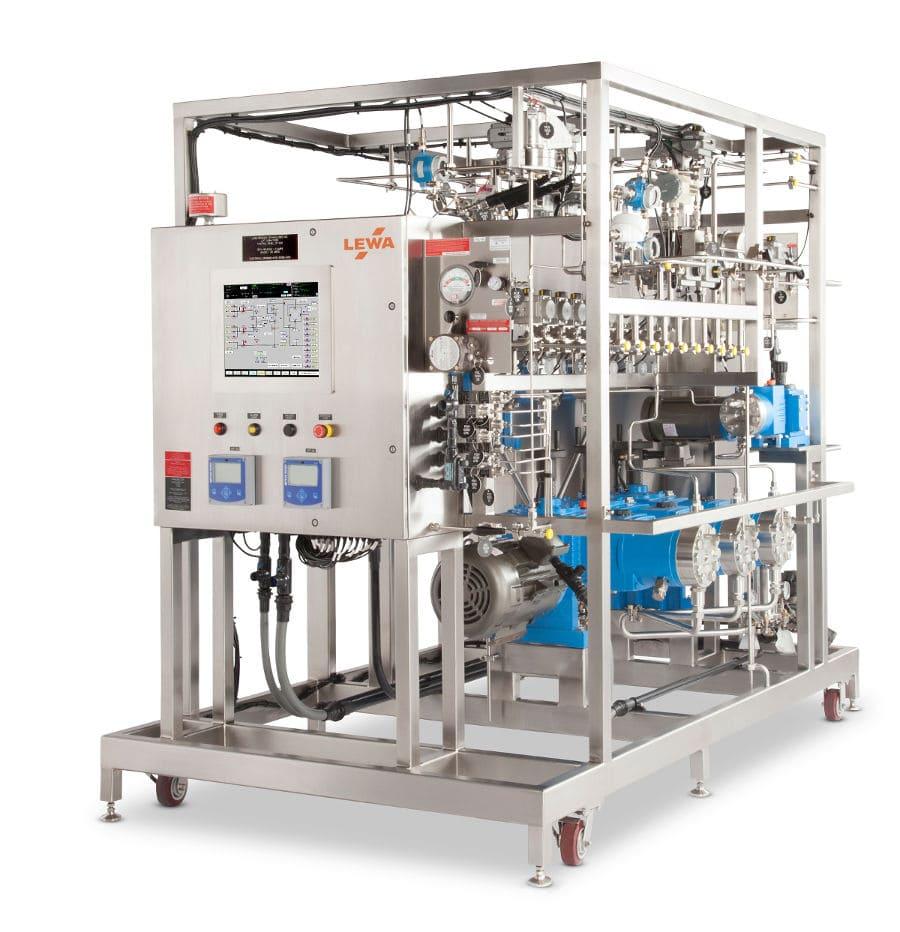 LEWA GMP production scale custom HPLC